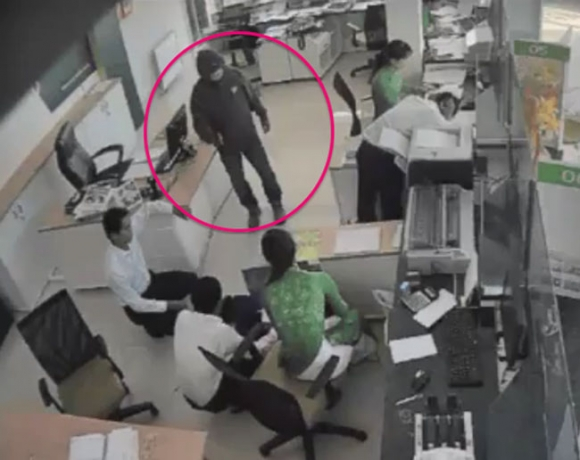Thông tin bất ngờ vụ dùng súng cướp ngân hàng ở Trà Vinh - 3