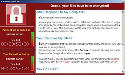 Toàn cảnh về vụ mã độc WannaCry