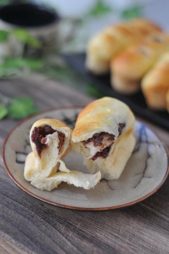 Mềm ngon bánh mì nhân đậu đỏ - Ảnh 5.