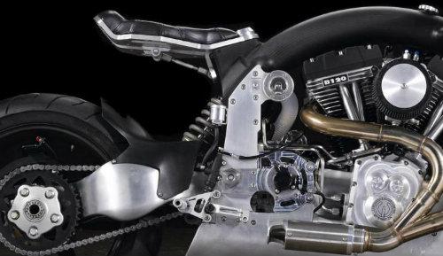 Ngắm siêu môtô Confederate Wraith giá 1,6 tỷ VNĐ - 2