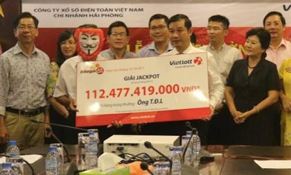 Người trúng jackpot 112 tỉ của Vietlott bất ngờ xuất hiện