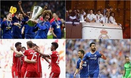 Top 10 đội bóng giá trị nhất châu Âu: Man United qua mặt Real Madrid