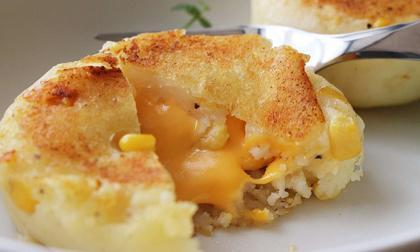 Cách làm bánh khoai tây chiên phô mai