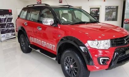 Mitsubishi Pajero Sport ra mắt phiên bản mới Select Plus