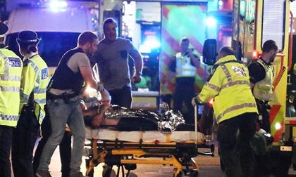 London hứng chịu ba vụ tấn công khủng bố đồng thời trong đêm