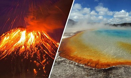 Siêu núi lửa mạnh nhất thế giới sắp gây ra kỷ băng hà