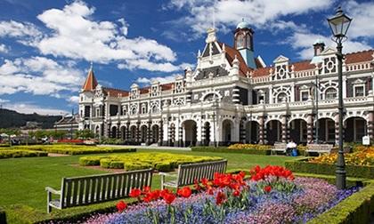 Ngây ngất với ngôi trường đại học đẹp nhất New Zealand