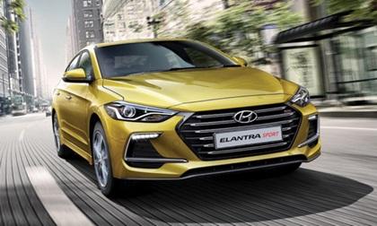 Giá xe ô tô Hyundai Elantra 2017: Có giá từ 637 triệu đồng