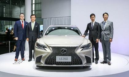 Ô tô Lexus LS 350 phiên bản mới ra mắt có giá khoảng 3,3 tỷ đồng