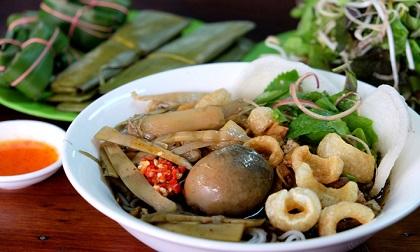 Bún cua thối, món đặc sản nổi tiếng ở phố núi Pleiku