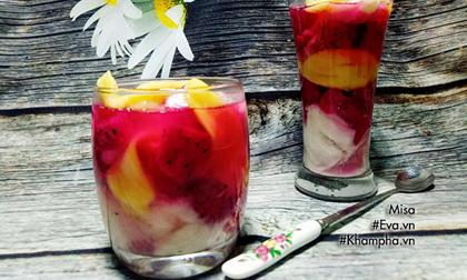 Chè trái cây 3 màu tuyệt ngon để giải nhiệt ngày nắng