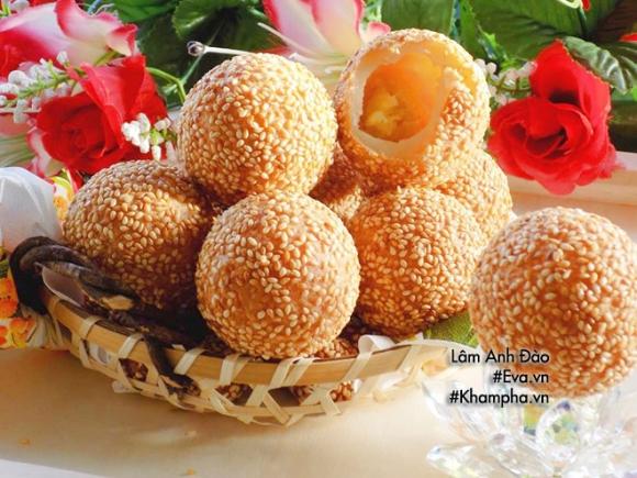 banh ran nhan sau rieng thom nuc mui, hang xom cung phai chay sang - 15