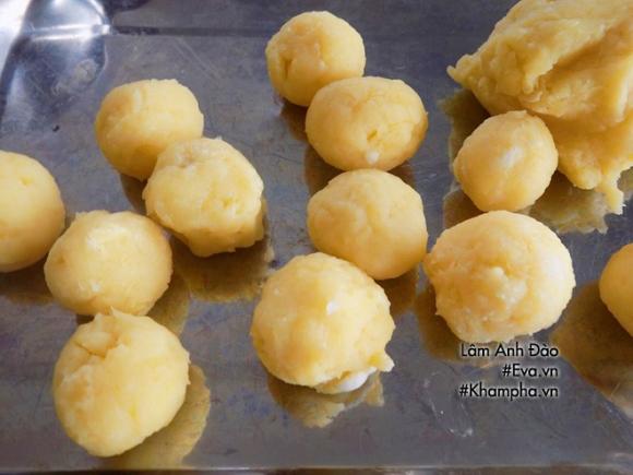 banh ran nhan sau rieng thom nuc mui, hang xom cung phai chay sang - 4