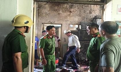 Đà Nẵng: Cháy kho chứa hàng vàng mã trong chợ Hòa Khánh do tàn thuốc lá