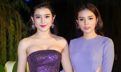 Hoa hậu Kỳ Duyên nói gì về tin đồn xích mích với Á hậu Huyền My?