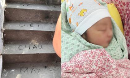 Bé 33 ngày tuổi chết trong chậu nước: Nhiều người thân được lấy nét chữ