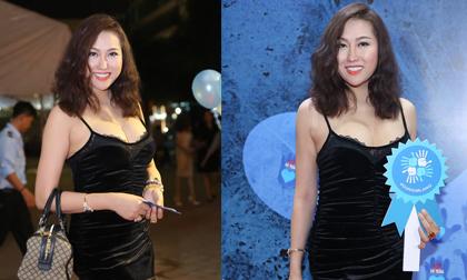 Phi Thanh Vân gợi cảm đi xem phim, mặc chồng cũ ngọt ngào bên tình mới