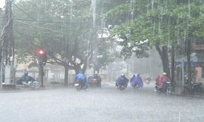Cuối tuần mưa lớn diện rộng ở Bắc Bộ