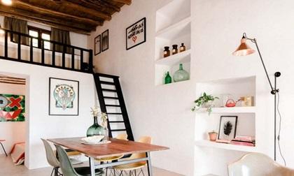 Căn nhà chỉ 45m2 nhưng thiết kế nội thất vô cùng ấn tượng, rộng rãi