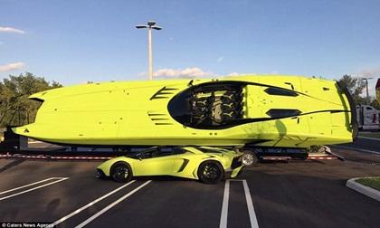 Du thuyền lai siêu xe Lamborghini giá gần 50 tỷ đồng có gì đặc biệt?