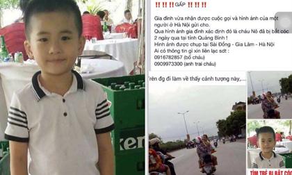 Tin mới vụ cháu bé mất tích tại Quảng Bình