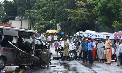 Tai nạn thảm khốc ở Kon Tum: Khởi tố, bắt tạm giam lái xe