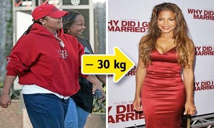 Loạt sao lớn trên thế giới chứng minh: Chỉ cần giảm cân thôi đã 'lột xác' hoàn toàn