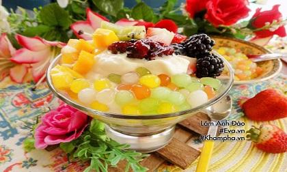 Cách làm hoa quả dầm hấp dẫn cho ngày nắng nóng