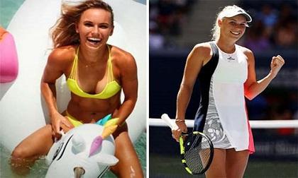 6 nữ thần tennis nóng bỏng nhất 'đốt cháy' Wimbledon 2017