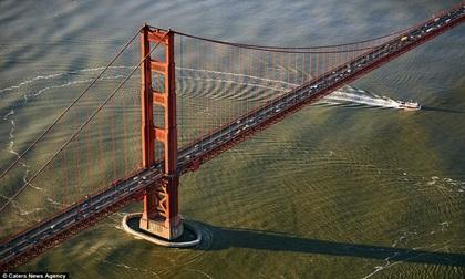 Những cây cầu nổi tiếng thế giới nhìn từ trên cao