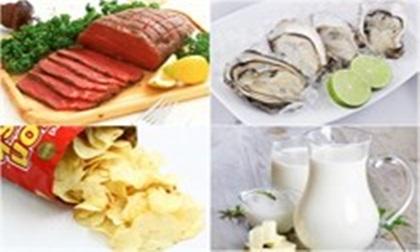 Nhiều món ăn hàng ngày tiềm ẩn nhiều rủi ro cho sức khỏe