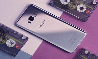 Bị bỏ bùa trước vẻ đẹp của Samsung Galaxy S8 màu tím khói