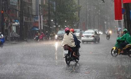 Dự báo thời tiết 12/7: 2 đầu đất nước mưa to