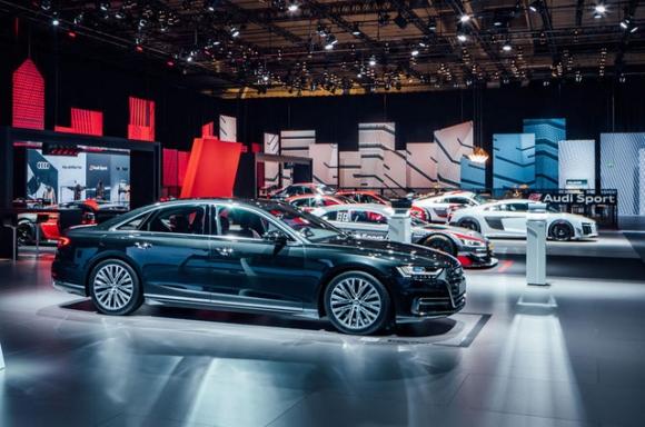 Chiêm ngưỡng vẻ đẹp của Audi A8 2018 bằng xương, bằng thịt - Ảnh 15.