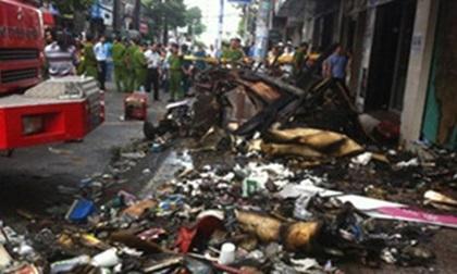 Hà Nội: Cháy nhà trong ngõ lúc đêm gia đình 2 vợ chồng, 2 con đều tử vong