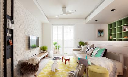 Căn hộ 25m² với cách bố trí nội thất đẹp không có chỗ chê