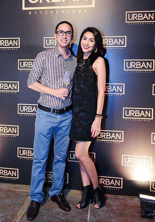 Doanh nhân Louis Nguyễn luôn đồng hành cùng vợ trong mọi dự án kinh doanh