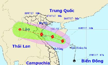Tin mới về cơn bão số 2: Đêm nay ven biển Thanh Hóa-Hà Tĩnh gió giật mạnh cấp 11