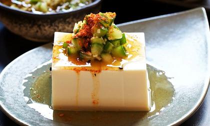 Salad đậu hũ mát mịn hấp dẫn