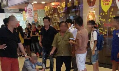 Người đàn ông bị nghi dâm ô thiếu nữ là nhân viên thời vụ tại tầng 3 trung tâm thương mại ở Hà Nội