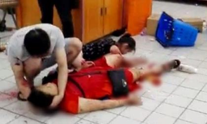 Thanh niên giết người dã man trong siêu thị ở TQ