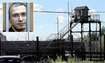 Nhật ký chốn ngục tù của cựu tỷ phú giàu nhất nước Nga