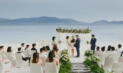 Tiệc cưới lãng mạn bên bờ biển của cô dâu Việt kiều khiến hội chị em phải ghen tị