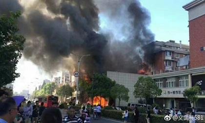 Nổ lớn ở Hàng Châu: Ít nhất 2 người chết, 55 bị thương