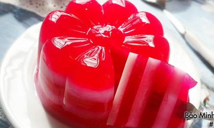 Hướng dẫn làm thạch sữa chua thanh long đỏ ăn vừa mát vừa bổ