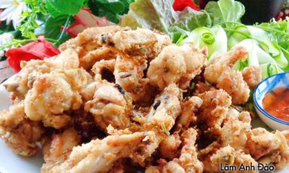Cánh gà chiên giòn rụm, món ăn chơi đổi vị cuối tuần