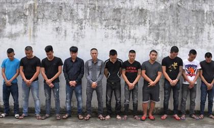 Nhóm côn đồ 'kéo quân' từ Hà Nam sang Ninh Bình hỗn chiến