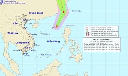 Thời tiết hôm nay (30.7): Xuất hiện cơn bão số 5, miền Bắc nắng nóng trên 37 độ
