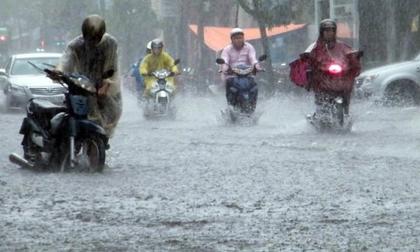 Hà Nội hạ 7 độ, mưa dông diện rộng đến hết tuần