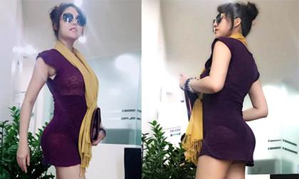 """Phi Thanh Vân phẫu thuật thẩm mỹ thành nữ hoàng vòng 3 với số đo """"hơn mét"""""""